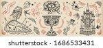 warrior crusader  sacred holy...   Shutterstock .eps vector #1686533431