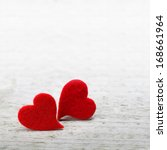 valentines day background with... | Shutterstock . vector #168661964