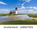 Light House Off The Coast Of...