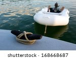 Rubber Inflatable Dinghy Boat...