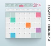 Calendar Design. October