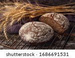 Freshly Baked Wheat Bread ...