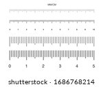 ruler. measuring scale  markup... | Shutterstock .eps vector #1686768214