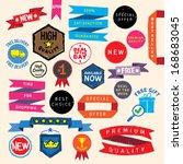 doodle promo elements. eps8.   Shutterstock .eps vector #168683045