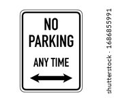 Prohibitive Sign For No Parkin...