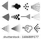different spray signs set....   Shutterstock .eps vector #1686889177