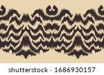 ikat border. geometric folk... | Shutterstock .eps vector #1686930157