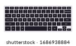 Laptop Computer Qwerty Keyboard ...