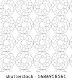 seamless vector pattern with...   Shutterstock .eps vector #1686958561
