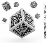 barcode concept | Shutterstock . vector #168704867