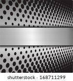 metal background  | Shutterstock .eps vector #168711299