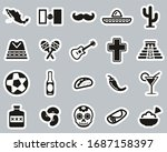 mexico country   culture icons...   Shutterstock .eps vector #1687158397