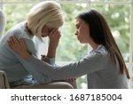 Caring Millennial Girl Child...