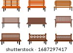 Outdoor Wooden Benches....