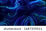 Digital Abstract Background Of...