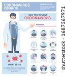 coronavirus 2019 ncov... | Shutterstock .eps vector #1687367971