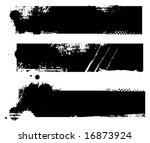 grungy banners ready for your... | Shutterstock .eps vector #16873924