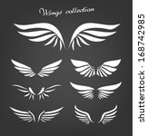 wings collection | Shutterstock .eps vector #168742985