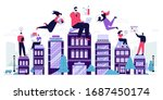 vector illustration of... | Shutterstock .eps vector #1687450174