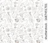 asian food.seamless pattern... | Shutterstock .eps vector #1687451701