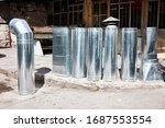Aluminum Chimney Pipe Hood...