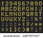Timetable Green Alphabet...
