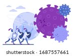 doctors knights protect earth... | Shutterstock .eps vector #1687557661
