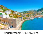the beautiful old main port of... | Shutterstock . vector #168762425