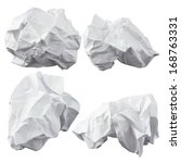 Crumpled Paper. Four Lump. The...