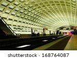 Washington Dc  Metro Station...