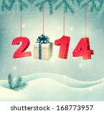 happy new year 2014  new year... | Shutterstock .eps vector #168773957