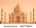 the taj mahal of india from the ... | Shutterstock . vector #168778844