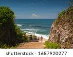 Tropical Seascape. Ocean  Wave...