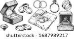 vector hand drawn illustration... | Shutterstock .eps vector #1687989217