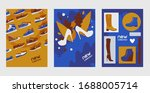 new collection shoes  boots ... | Shutterstock .eps vector #1688005714