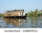 tourist boat at kerala... | Shutterstock . vector #168804311