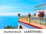 Scenery With Villa Architecture ...