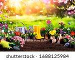 Spring Gardening   Flowerpots...