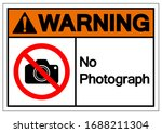 warning no photograph symbol... | Shutterstock .eps vector #1688211304