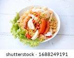 Instant Noodle Spicy Salad Wit...