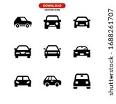 car icon or logo isolated sign... | Shutterstock .eps vector #1688261707