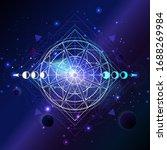 vector illustration of geometry ... | Shutterstock .eps vector #1688269984