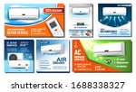 air conditioner advertising... | Shutterstock .eps vector #1688338327