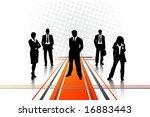 business people | Shutterstock .eps vector #16883443