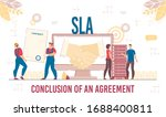 successful business solution... | Shutterstock .eps vector #1688400811