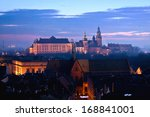 Wawel Hill With Castle In...