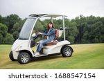 Women In The Golf Car