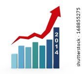 2014 growth charts | Shutterstock . vector #168855275