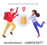 vector illustration in flat... | Shutterstock .eps vector #1688565877