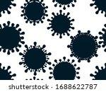 coronavirus disease covid 19.... | Shutterstock .eps vector #1688622787